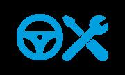 Professionnel-Icone-Verification-Bleu